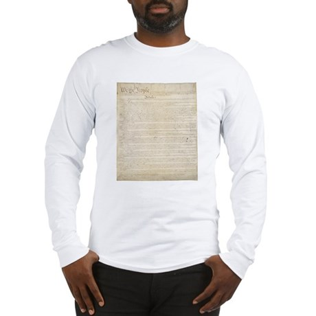 The Us Constitution Long Sleeve T-Shirt