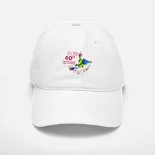 It's My 40th Birthday (Party Hats) Baseball Baseball Cap
