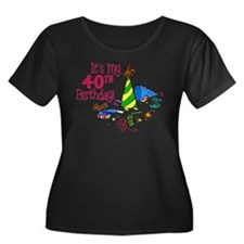 It's My 40th Birthday (Party Hats) T