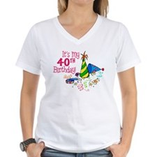 It's My 40th Birthday (Party Hats) Shirt