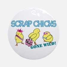 Wild Chicks Ornament (Round)