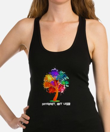 Different, not less! Tank Top