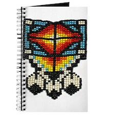 Beaded Tribal Badge Journal