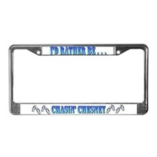 Cute Flip License Plate Frame