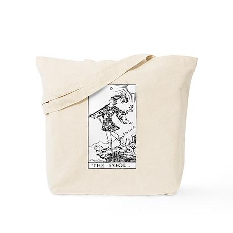The Fool Rider-Waite Tarot Card Tote Bag