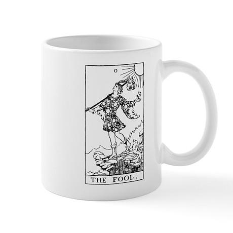 The Fool Rider-Waite Tarot Card Mug
