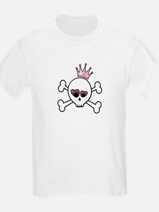Pretty Princess Skull T-Shirt
