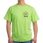 BONNEVIE Family Crest Green T-Shirt