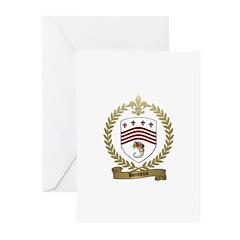 BONNEVIE Family Crest Greeting Cards (Pk of 10