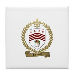 BONNEVIE Family Crest Tile Coaster