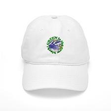Green is the new black Baseball Cap