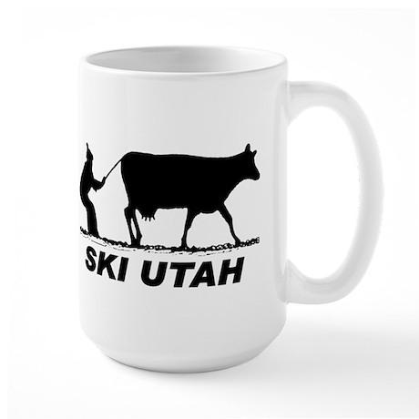 Ski Utah Large Mug