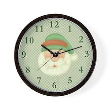Santas Wish Wall Clock