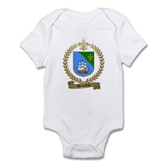 BORDELEAU Family Crest Infant Creeper
