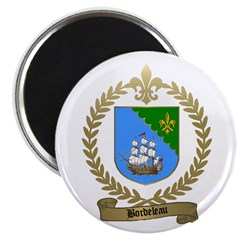 BORDELEAU Family Crest Magnet