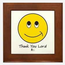 Thank You Lord Framed Tile