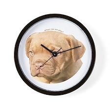 Dogue De Bordeaux Puppy Wall Clock