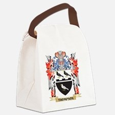 Thompson Coat of Arms - Family Cr Canvas Lunch Bag