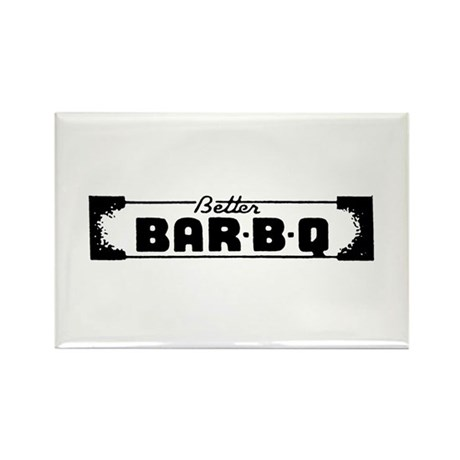 BBQ Bar-B-Que Rectangle Magnet