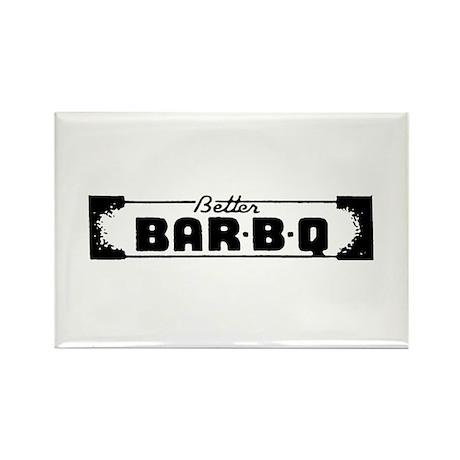 BBQ Bar-B-Que Rectangle Magnet (100 pack)