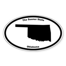 Oklahoma Nickname Oval Decal