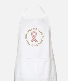 2 Year Breast Cancer Survivor BBQ Apron