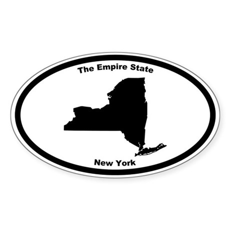 new york nickname oval decal by cowboy2023. Black Bedroom Furniture Sets. Home Design Ideas