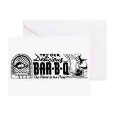 BBQ Bar-B-Que Greeting Card