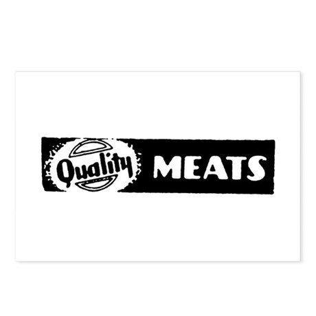 Quality Meats Postcards (Package of 8)