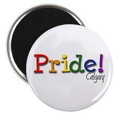 """Calgary Gay Pride 2.25"""" Magnet (10 pack)"""