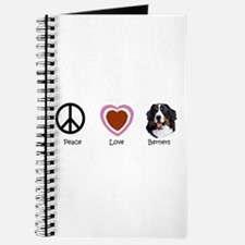 Cute Peace love dogs Journal