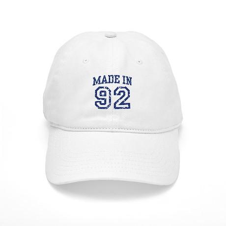 Made in 92 Cap