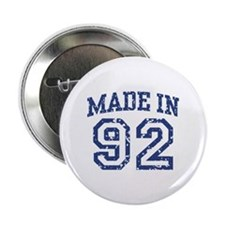 """Made in 92 2.25"""" Button"""