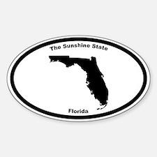 Florida Nickname Oval Decal