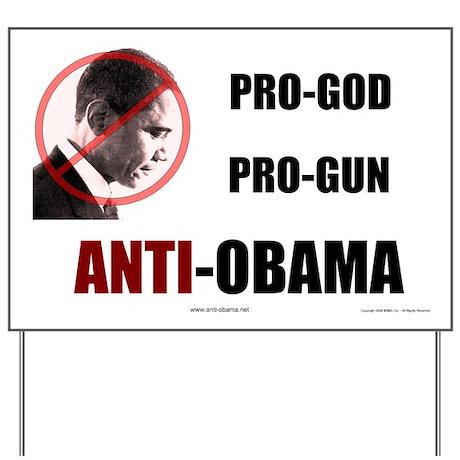Pro-God Pro-Gun - Yard Sign