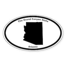 Arizona Nickname Oval Decal