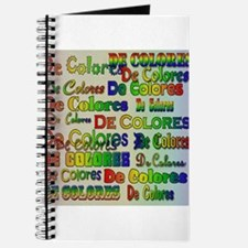De Colores Fonts Journal