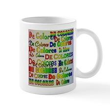 De Colores Fonts Mug