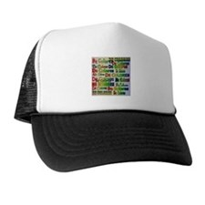 De Colores Fonts Trucker Hat