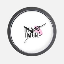 I'm a Martini Girl Wall Clock