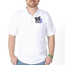 Cartoon Border Collie T-Shirt