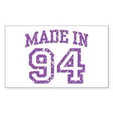 Made in 94 Rectangle Decal