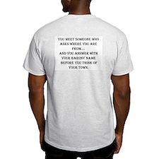 Where was that again? T-Shirt