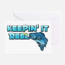 Keepin' It Reel Greeting Card