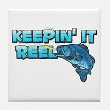 Keepin' It Reel Tile Coaster