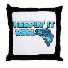 Keepin' It Reel Throw Pillow