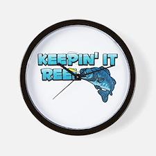 Keepin' It Reel Wall Clock