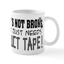 Not Broke - Duct Tape Mug