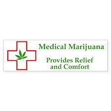 Provides Relief and Comfort Bumper Bumper Sticker
