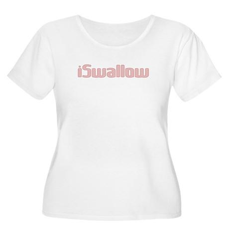 i Swallow Women's Plus Size Scoop Neck T-Shirt